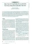 Một số hạn chế và giải pháp cho sự phát triển thị trường chứng khoán phái sinh ở Việt Nam