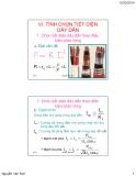 Bài giảng Kỹ thuật điện: Chương 1.2 - Cung cấp điện cho công trình (TT)