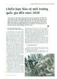 Chiến lược bảo vệ môi trường quốc gia đến năm 2020