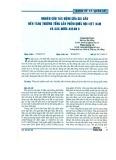 Nghiên cứu tác động của giá dầu đến tăng trưởng tổng sản phẩm quốc nội Việt Nam và các nước ASEAN 5