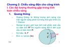 Bài giảng Kỹ thuật điện: Chương 2.1 - Chiếu sáng điện cho công trình