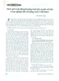 Đánh giá hoạt động thương mại hóa quyền sở hữu công nghiệp đối với sáng chế ở Việt Nam