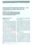 Chính sách tài khóa Việt Nam giai đoạn 2011 - 2015 và một số đề xuất trong thời gian tới