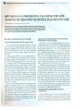 Biến động của thị trường tài chính thế giới và những tác động đến thị trường tài chính Việt Nam
