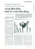 Phối hợp chính sách tiền tệ và chính sách tài khóa ở Việt Nam trong điều kiện kinh tế vĩ mô biến động