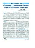 Tổ chức đăng ký vận đơn điện tử Bolero và một số gợi ý áp dụng tại Việt Nam