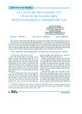 Xây dựng mô hình nghiên cứu về quản trị thương hiệu trong ngành dịch vụ Logistic Việt Nam