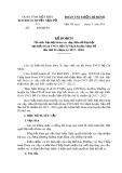 Kế hoạch tổ chức đại hội Đoàn các cấp, tiến tới đại hội đại biểu đoàn TNCS Hồ Chí Minh huyện Nậm Pồ lần thứ II (nhiệm kỳ 2017-2022)