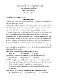 Đề thi học kì 1 môn Tiếng Việt lớp 4 năm 2014-2015 - Trường TH Đại Lãnh 2