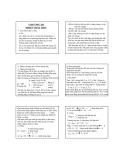 Bài giảng Hóa đại cương Chương III: Nhiệt hóa học