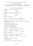 Tổng hợp 1090 câu trắc nghiệm Địa lý 12 theo bài - Nguyễn Trường Thái