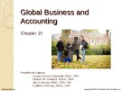 Lecture Financial accounting (15/e) - Chapter 15: Global business and accounting