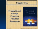 Lecture Advanced accounting (11/e): Chapter 10 - Hoyle, Schaefer, Doupnik