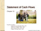 Lecture Financial accounting (15/e) - Chapter 13: Statement of cash flows
