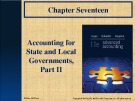 Lecture Advanced accounting (11/e): Chapter 17 - Hoyle, Schaefer, Doupnik