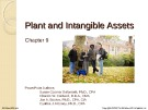 Lecture Financial accounting (15/e) - Chapter 9: Plant and intangible assets
