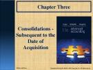 Lecture Advanced accounting (11/e): Chapter 3 - Hoyle, Schaefer, Doupnik