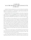 """Bài văn mẫu cảm nhận về """"Người lái đò sông Đà"""" của Nguyễn Tuân"""