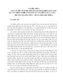 2 bài văn mẫu về vẻ đẹp trữ tình của hình tượng dòng sông trong tác phẩm qua tác phẩm Người lái đò sông Đà - Nguyễn Tuân và Ai đã đặt tên cho dòng sông - Hoàng Phủ Ngọc Tường