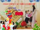 Bài giảng Toán lớp 3 Tiết 53: Bảng nhân - GV. Hoàng Thị Thu Hằng