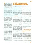 Vai trò của thị trường chứng khoán đối với tăng trưởng kinh tế ở Việt Nam