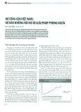 Nợ công của Việt Nam: Dự báo những rủi ro và giải pháp phòng ngừa