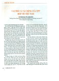 Vai trò và tác động của TPP đối với Việt Nam