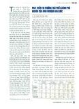 Phát triển thị trường trái phiếu chính phủ - Nghiên cứu kinh nghiệm Hàn Quốc