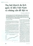Thu hút khách du lịch quốc tế đến Việt Nam và những vấn đề đặt ra