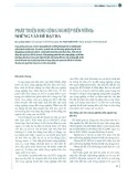 Phát triển khu công nghiệp bền vững: Những vấn đề đặt ra