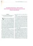 Chất lượng nguồn nhân lực - Yếu tố cần thiết để phát triển ngành hàng thủ công mỹ nghệ tại Việt Nam trong giai đoạn hội nhập
