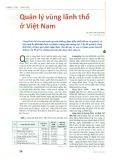 Quản lý vùng lãnh thổ ở Việt Nam