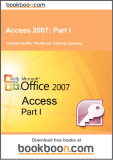 Ebook Access 2007: Part 1