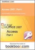 Ebook Access 2007: Part 1