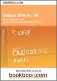 Ebook Outlook 2010: Part 3