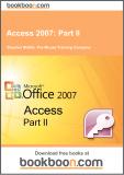 Ebook Access 2007: Part 2