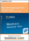 Ebook Word 2010 Advanced: Part 1