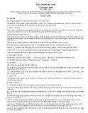 Tiêu chuẩn Quốc gia TCVN 6625:2000 - ISO 11923:1997