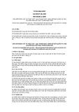 Tiêu chuẩn Quốc gia TCVN 6564:2007