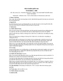 Tiêu chuẩn Quốc gia TCVN 6530-6:1999