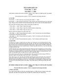 Tiêu chuẩn Quốc gia TCVN 7802-2:2007 - ISO 10333-2:2000