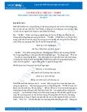 Tổng hợp 4 bài phân tích khổ 3 bài thơ Việt Bắc của Tố Hữu