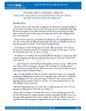 Tổng hợp 5 bài phân tích tình huống truyện trong truyện ngắn Vợ nhặt của Kim Lân