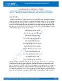 """Tổng hợp 3 bài phân tích đoạn thơ """"Những đường Việt Bắc của ta...đèo De, núi Hồng"""" trong bài thơ Việt Bắc của Tố Hữu"""