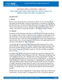 Tổng hợp 6 bài phân tích nhân vật Tràng trong tác phẩm Vợ nhặt của nhà văn Kim Lân