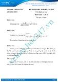 Đề thi học sinh giỏi môn Toán lớp 11 năm 2014-2015 - Sở GD&ĐT Thái Nguyên