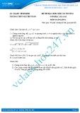 Đề thi học sinh giỏi môn Toán lớp 11 năm 2012-2013 - Trường THPT Nguyễn Trân