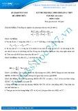 Đề thi học sinh giỏi môn Toán lớp 11 năm 2013-2014 - Sở GD&ĐT Hà Nam
