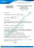 Đề thi học sinh giỏi môn Toán lớp 11 năm 2013-2014 - Sở GD&ĐT Nghệ An