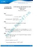 Đề thi HSG môn Toán lớp 10 năm 2013-2014 - Sở GD&ĐT Hà Tĩnh
